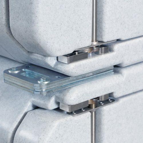 Contenitori refrigerati, kit fissaggio combo