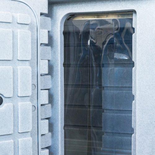 Contenitori refrigerati, porta laterale