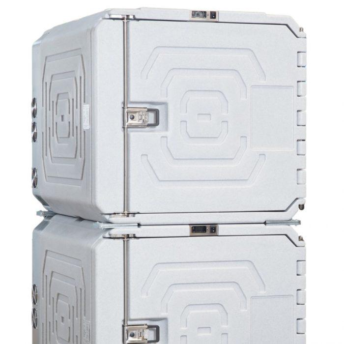 Doppio contenitore refrigerato da 720 litri
